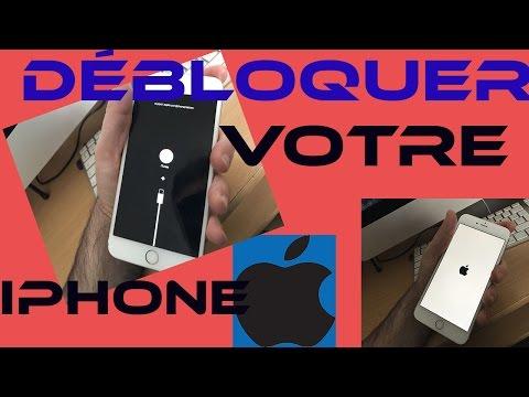 Débloqué iPhone Bloqué Sur Logo iTunes+Cable Usb Restaurer ou Mettre à jour En Mode Récupération