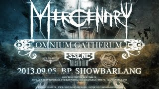 Mercenary: 2013.09.05 Budapest Showbarlang - Trailer