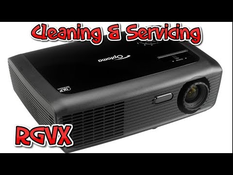 How To Clean & Service A DLP Projector : Tutorial
