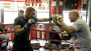 Danny Jacobs vs. Peter Quillin full video- COMPLETE Jacobs full workout video