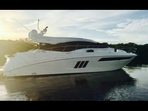 2017 Sea Ray L590 Express Yacht For Sale at MarineMax Fort Myers
