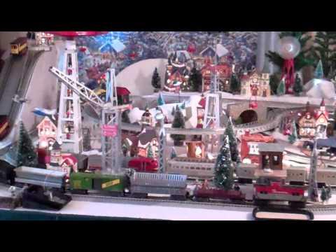 2015  Train Christmas Village