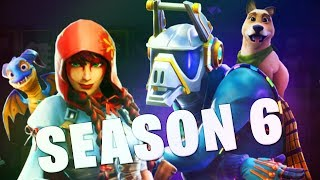 REACTING TO THE SEASON 6 BATTLE PASS ON FORTNITE!