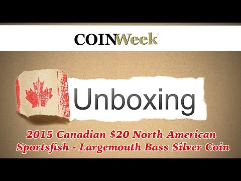 CoinWeek Unboxing: Canada 2015 North American Sportsfish -Largemouth Bass $20 Silver Coin