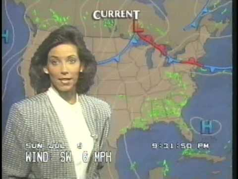 The Weather Channel ~ Jul 9, 1989 ~ 9:20PM - 10:25PM