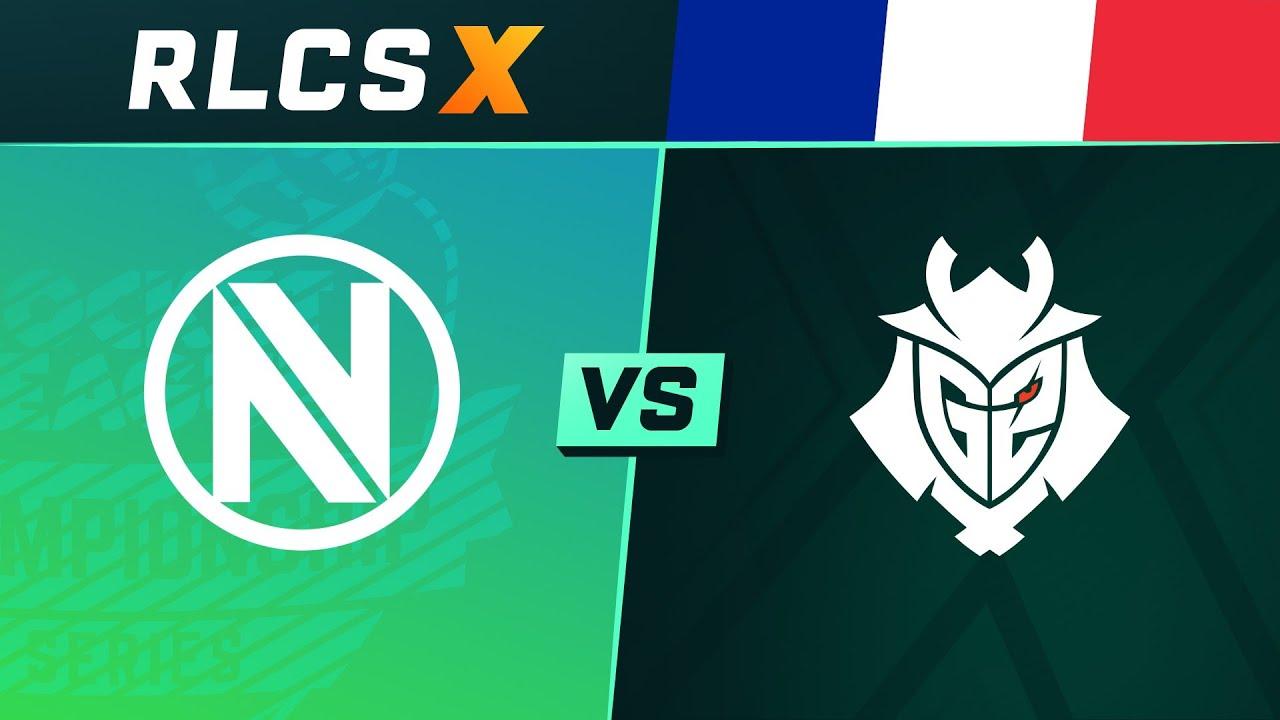 Envy vs G2 - 1/2 Finale - NA Regional 2 - RLCS X Spring Split