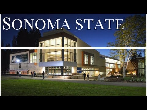 Sonoma State University Campus Tour (Better Video)