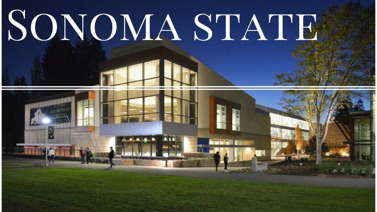 Sonoma State University Campus Tour (Better Video)