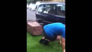 Homemade jackass (the bin man)