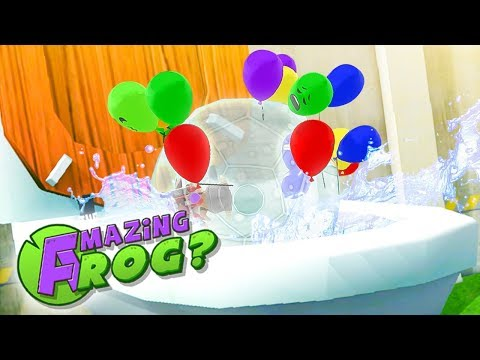GETTING FLUSHED WHILE INSIDE A ZORB BALL!   Amazing Frog Gameplay  Amazing Frog Update