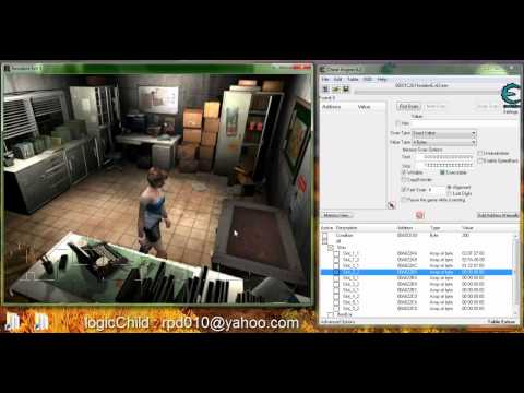 Resident Evil 2 (Leon + Claire) - PC: Cheat Engine | FunnyDog TV