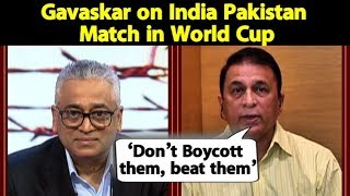 Sunil Gavaskar says beating Pakistan in World Cup will be ultimate revenge for India