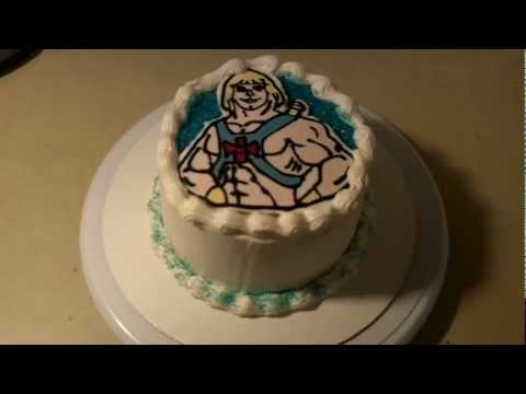 How To Make A He Man Birthday Cake FBCT