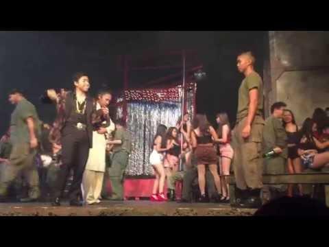 Mt Eden Miss Saigon Pt 1 American Dream Cast