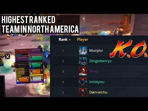 FIGHTING THE HIGHEST RANKED RBG TEAM IN NORTH AMERICA