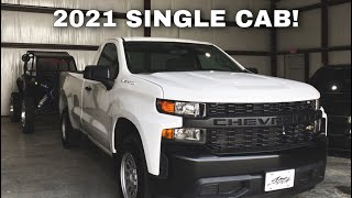 ITS TIME TO BUILD A 2021 SINGLE CAB SILVERADO!