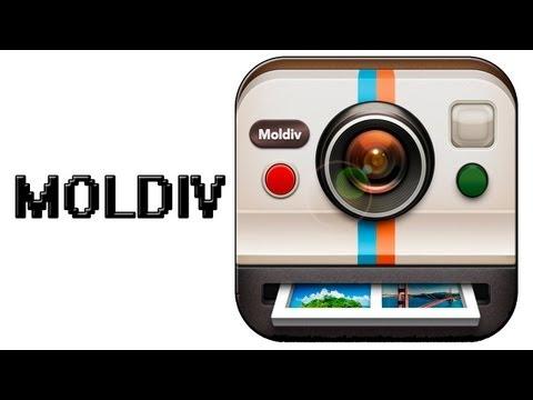 Moldiv - Создаем фото - коллажи на iPhone