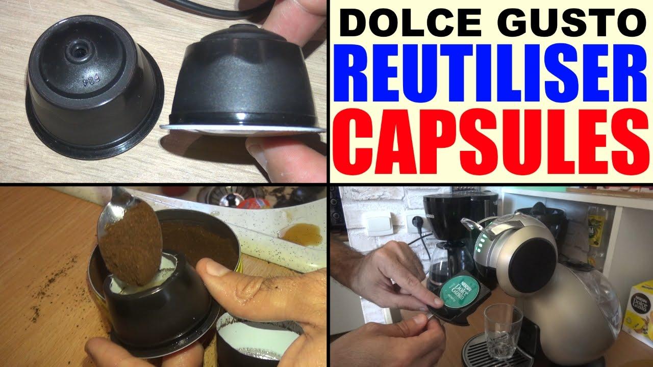 Assez réutiliser ses capsules dolce gusto usagée (refill reuse  PI11