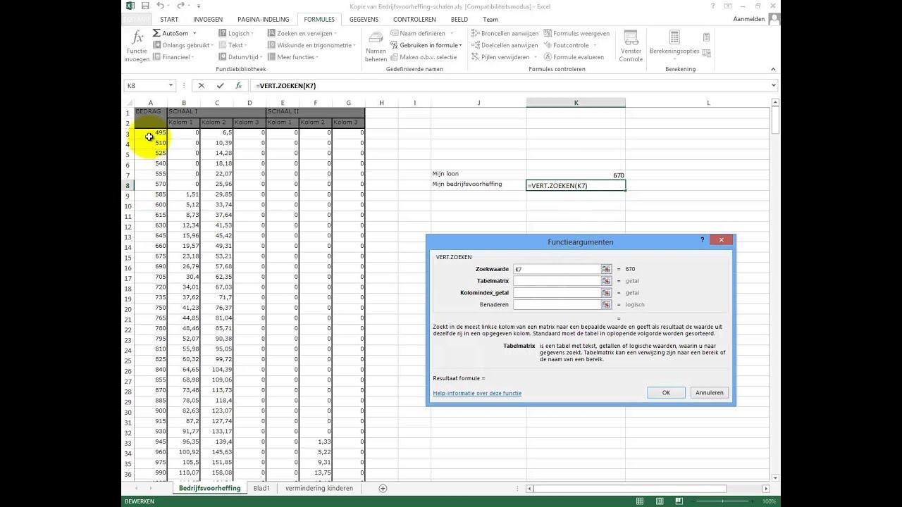 Citaten Zoeken Excel : Verticaal zoeken in excel youtube