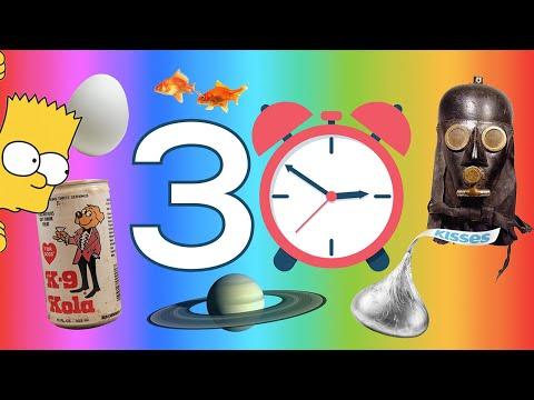 ¡30 Cosas que no sabías en 5 minutos!