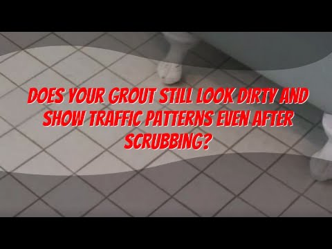 Tile & Grout Cleaning and Re-Coloring - The Grout Doctor® - YouTube