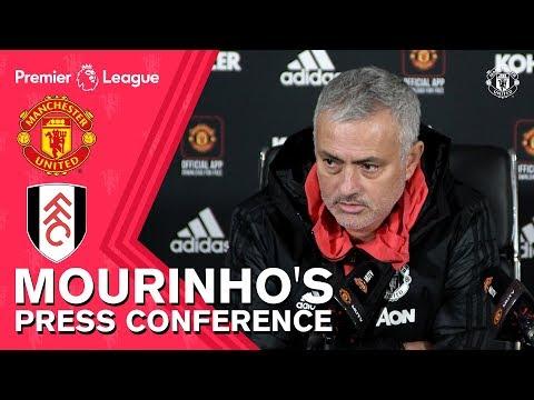 Jose Mourinho Press Conference | Manchester United v Fulham | Premier League 2018/19