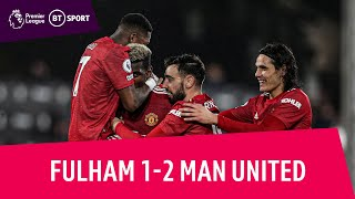 Fulham vs Man United (1-2) | Pogba brilliance seals United victory | Premier League Highlights