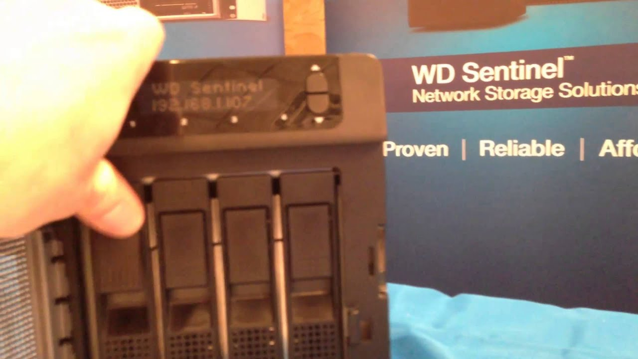 WD Sentinel DS5100 Storage Drivers for PC