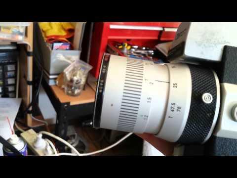 My 1960s Canon Auto Zoom 518 Super 8 film camera