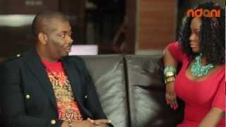 Ndani TV: DON JAZZY talks about D'banj // Talent hunt // Mavin Records on THE JUICE