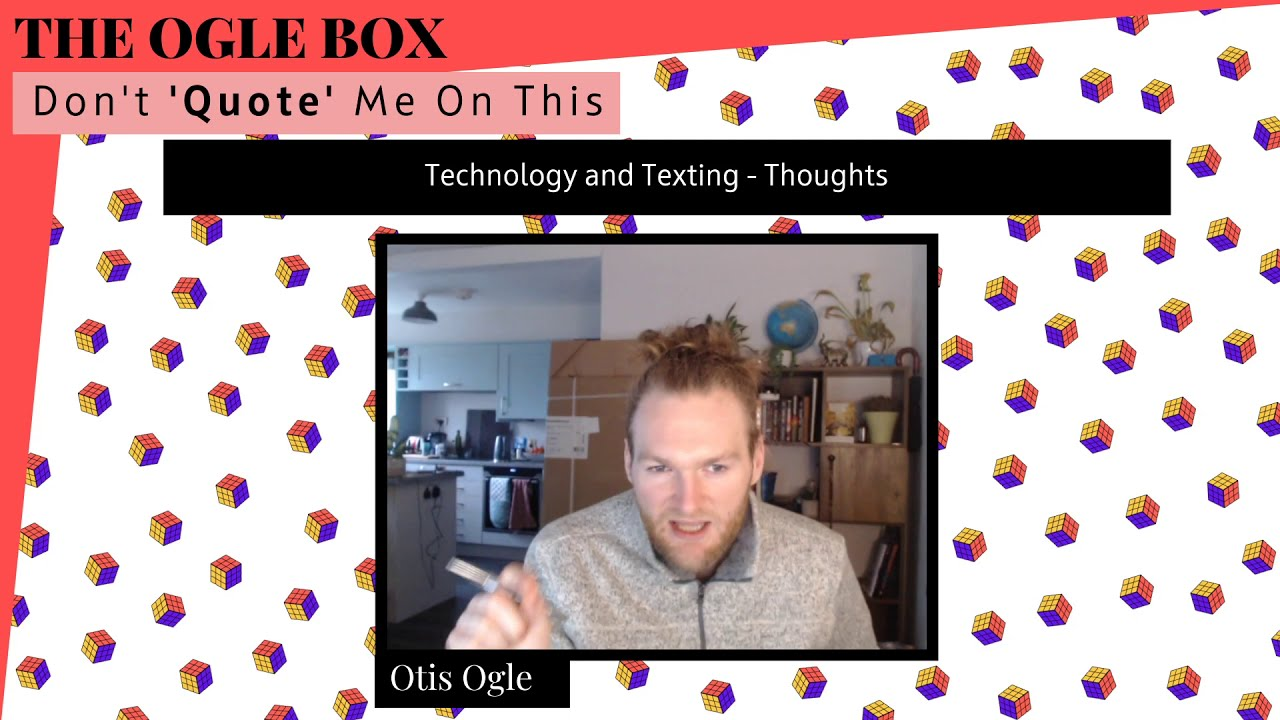 Technology and Texting - Some thoughts!