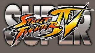 Super Street Fighter IV - Drive-in at Night Stage (U.S.A.)