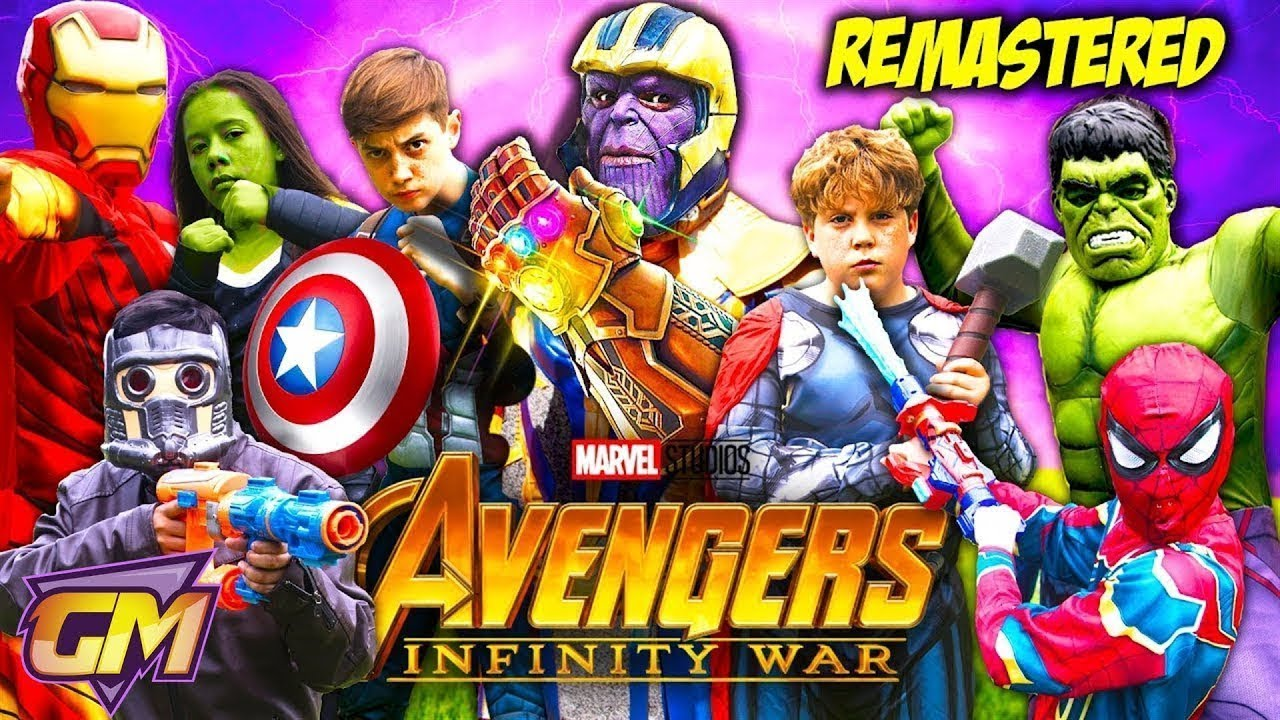 Avengers Infinity War - Kids Parody! (NEW Remastered!)