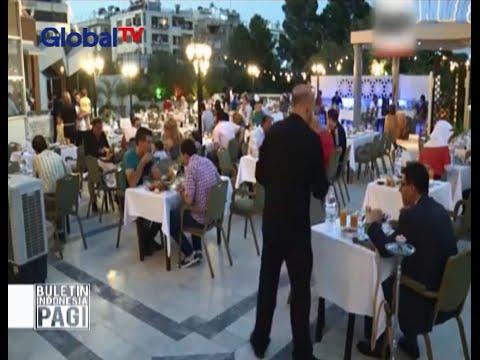 Walau ditengah konflik Iftar terbaik tetap disajikan di Damaskus, Suriah - BIP 30/06