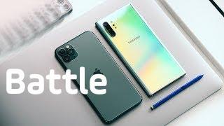 Bătălia TOP-urilor. iPhone 11 Pro Max vs Galaxy Note 10+ (Review Română)