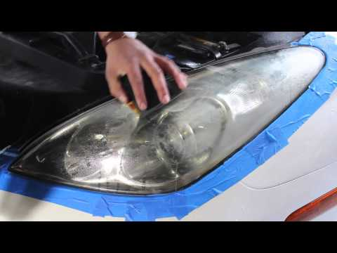 How To Restore Headlights The Correct Way