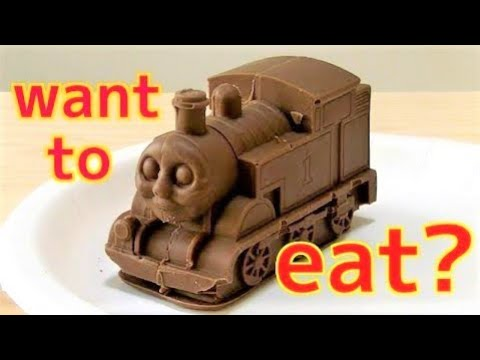 Realistic Big Thomas Chocolate! Thomas & Friends !