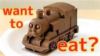 Realistic Big Thomas Chocolate! Thomas & Friends リアルなビッグトーマスチョコ! きかんしゃトーマス thumbnail