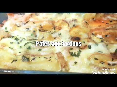 pâtes-aux-lardons-halal-de-poulet