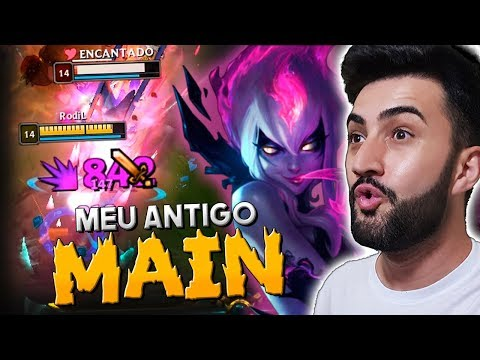 SERÁ A VOLTA DO MEU ANTIGO MAIN? *EVELYNN JUNGLE EXPLODE D+* - ROdiL