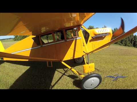 Curtiss Robin Test Flight