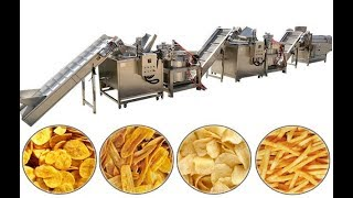 Turnkey Solution Plantain Chips Making Machine Working in Nigeria
