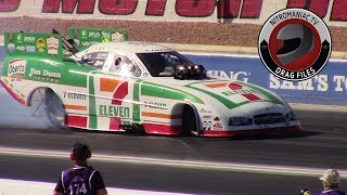 2017 NHRA Toyota Nationals @ LVMS (Part 28 - Nitro Funny Car Round 1 Eliminations)