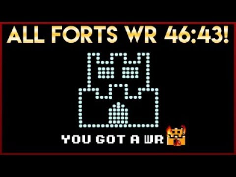 Super Mario Bros. 3 All Forts NEW World Record *46:43*