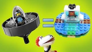 Как собрать Кружитцу из Лего? Дракоша Гоша и Бейблэйды! Новые мультики для детей. Видео с игрушками