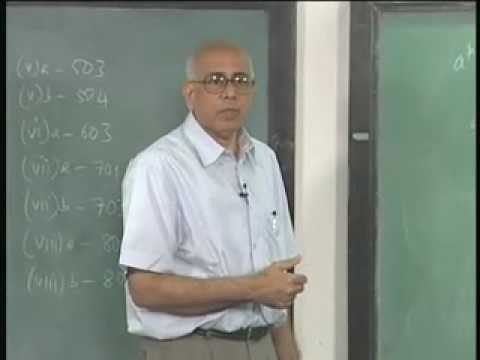 Mod-01 Lec-36 Special Relativity (Part 2)
