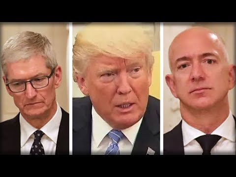TIM COOK AND JEFF BEZOS SHOCKED AMERICA WITH WHAT THEY JUST REVEALED TO TRUMP