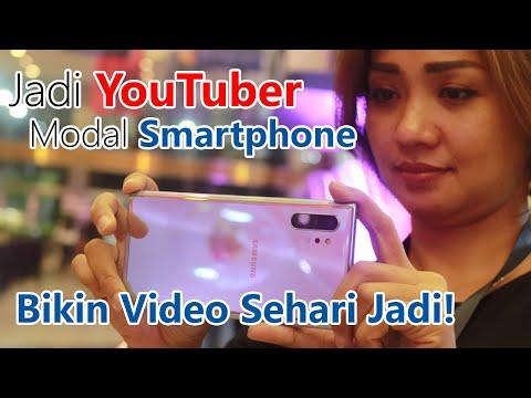 Jadi YouTuber Pake Smartphone - Review Kamera Samsung Galaxy Note 10+ ( Note 10 Plus )