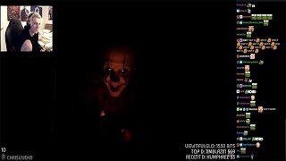 xQc Reacts to IT CHAPTER TWO Teaser Trailer