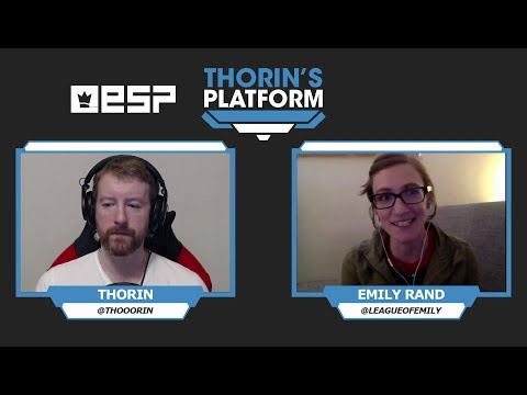 Thorin's Platform: Emily Rand on CuVee the World Champion (LoL)
